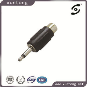 BNC Male to RCA Female Adaptor Plated RCA Connector pictures & photos
