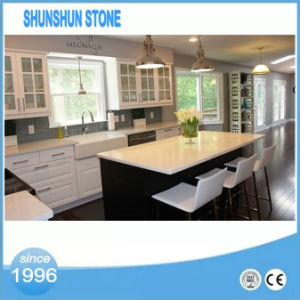 Customized Artificial Quartz Countertops for Kitchen pictures & photos
