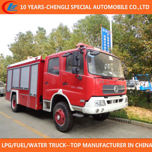 4X2 China Supplier Brand 7000 Liters Fire Truck for Sale pictures & photos