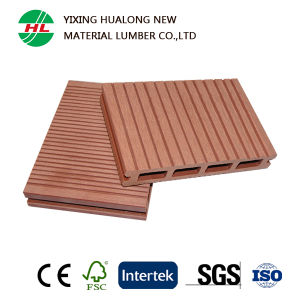 Hollow WPC Decking Wood Plastic Composite Flooring for Outdoor (M19) pictures & photos