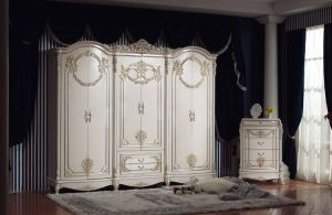 Classical MDF Bedroom Furniture Bedroomset (837) pictures & photos