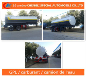 20 Cbm Reservoir Chimiques Semi-Remorque Tank Trailer pictures & photos