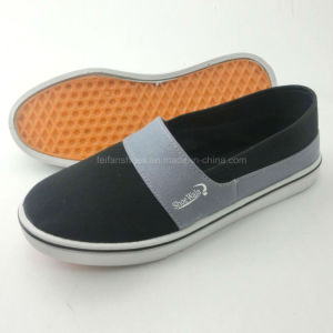 New Style Men′s Injection Canvas Shoes with Plenty Styles (PY16-03) pictures & photos