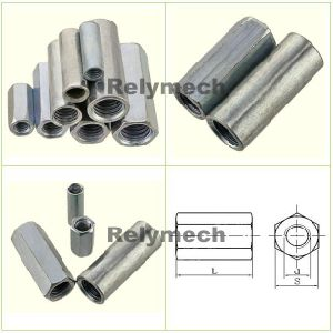 Cylinder Head Round Coupling Nut/Hex Coupling Nut/Long Nut/Heavy Nut pictures & photos