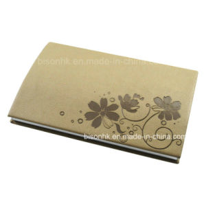 PU Leather Business Card Holder, OEM Production Business Card Holder pictures & photos