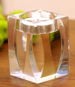 Simple Crystal Candle Holder Candlestick for Wedding Decoration pictures & photos