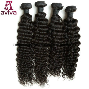 Deep Wave 100% Virgin Peruvian Natural Virgin Hair Extension pictures & photos
