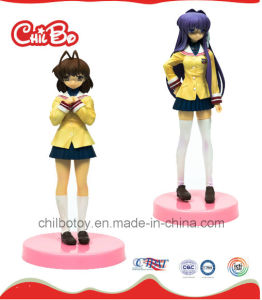 Pretty Girl Plastic Figure Toy (CB-PF003-Y) pictures & photos