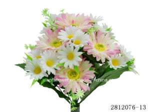 Artificial/Plastic/Silk Flower Gerbera, Daisy Bush (2812076-13) pictures & photos