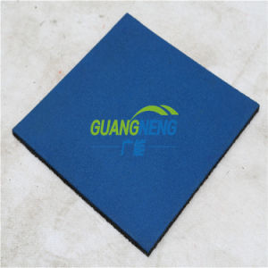 Black and Color Sports Rubber Flooring Gym Floor Mat, Gymnasium Flooring, Outdoor Rubber Flooring pictures & photos
