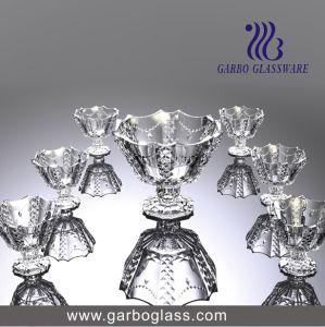 7PCS Necklace Engraved Ice Cream Bowl Set Glassware pictures & photos