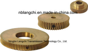 High Precision Transmission Parts Copper Wheel Nut Worm Gear pictures & photos