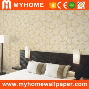 2016 New Design PVC Deep Embossed Wallcovering (80503) pictures & photos