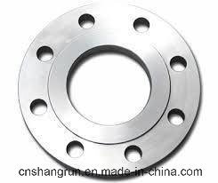 ANSI Ss400 Steel Forged Plate Flange Flat Flanges for Pipe Fittings pictures & photos