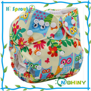 Reusable Baby Cloth Nappies Wholesale Aio Cloth Nappy
