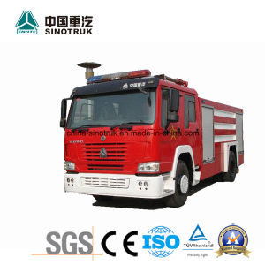 Professional Supply HOWO Fire Truck Fire Fight Truck Fire Engine with Water Foam Type