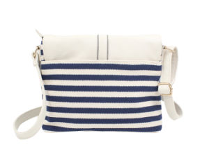 Women Fashion Handbags in Color Contrast Style (BDM018) pictures & photos
