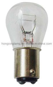 S25 Auto Bulb 12V 21W Single Fialment Halogen (Stop light) pictures & photos