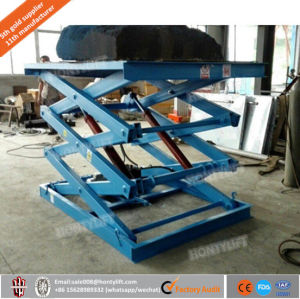ISO Certificated Hydraulic Stationary Scissors Lift Platform pictures & photos