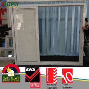 Balcony Plastic Glass Sliding Door pictures & photos