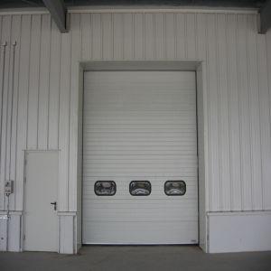Metal Frame Home Wardrobe Cabinet Closet Glass Sliding Doors (HF-1077) pictures & photos