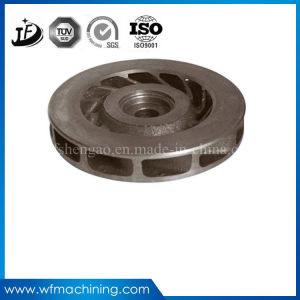 Investment Steel Casting Iron Closed Pump Impeller with Customized pictures & photos