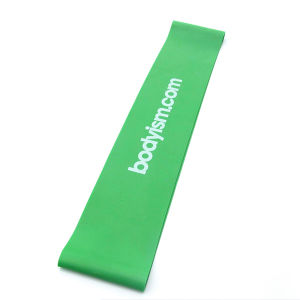 High Quality Latex Silkscreen Printing Pilates Resistance Band pictures & photos