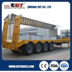 Heavy Duty Low Bed Semi-Trailer Truck pictures & photos