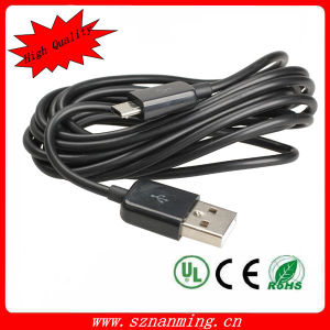 USB 2.0 a Male to Micro 5p Charge and Data Transfer Cable pictures & photos
