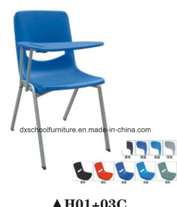 Hot Selling Plastic Steel Chair with Writing Board pictures & photos