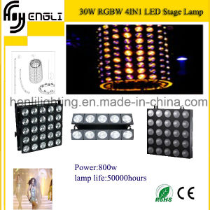 Newest 30W RGBW4 In1 LED Effect Light for Stage pictures & photos