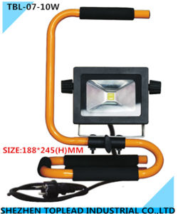 AV110/220V Portable LED Work Light, 10W Civil LED Flood Light