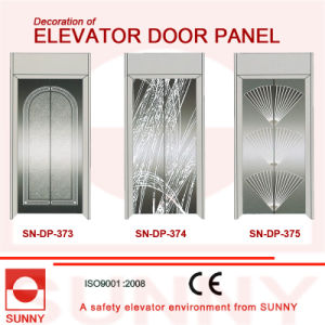 St. St Mirror Door Panel for Elevator Cabin Decoration (SN-DP-373) pictures & photos