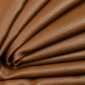 Solvent Totally Free MDF Totally Free PU Leather for Sofa (JGS8) pictures & photos