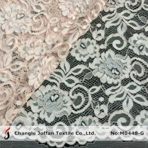 High Quality Bridal Lace Fabric Wholesale (M0448-G) pictures & photos