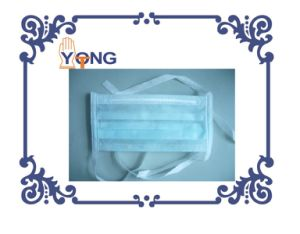 Protective Disposable Non Woven Face Mask with Belt