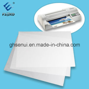 Pet Glossy and Matte Laminating Pouch Film with Eco-Friendly Material pictures & photos
