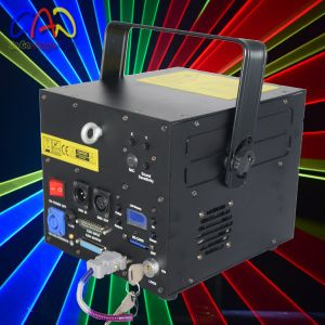 Christmas 30k Full Color RGB Laser Light DJ 3000MW 128 Patterns High Speed Scanner pictures & photos