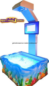 Amusement Park Equipment-Interactive Sand Table---Kids Playing Center Kinetic Sand Motion Sand Educational Toys