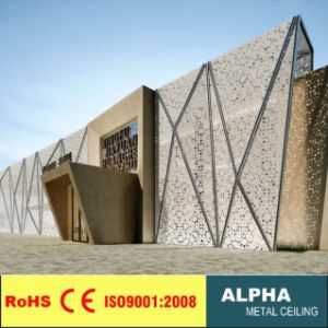 Aluminum Metal Decorative Perforated Carved Wall Claddings pictures & photos
