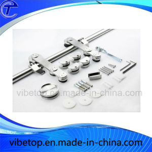 China Top Quality Stainless Steel Barn Door Hardware pictures & photos