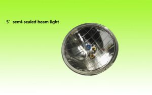 "High Quality 5"" or 7"" Auto Semi Sealed Beam Light pictures & photos"