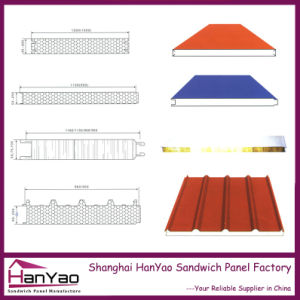 Thermal Insulation EPS Sandwich Panel for Roof and Wall pictures & photos