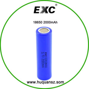 18650 Battery 3.7V 2000mAh Battery Manufacturers pictures & photos