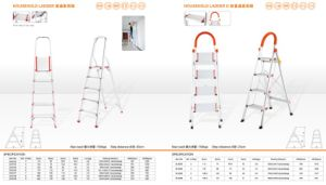 D Type Common Household Ladder pictures & photos