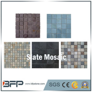 Rusty Hot Selling Slate Mosaic Pattern for Exterior Wall Decoration pictures & photos