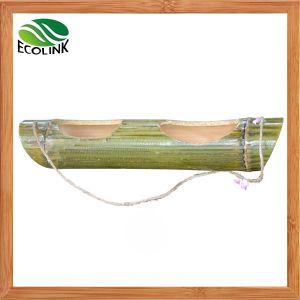 Wall Hanging Bamboo Flower Pot/ Succulent Pot pictures & photos