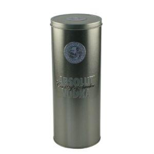 Round Wine Tin Box/Vodka Tin Box pictures & photos