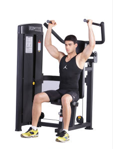 Shoulder Press Fitness Equipment with Black Painting Sp-003 pictures & photos