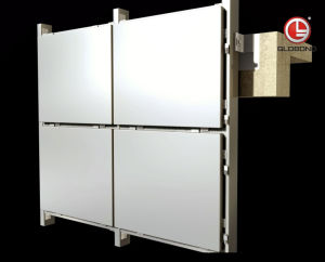 Fabricated Aluminium Solid Panel for Cladding (GL-023) pictures & photos